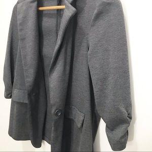 Soho Apparel Jackets & Coats - Soho Apparel LTD Dark Grey Blazer